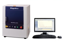 Rigaku, MiniFlex benchtop X-ray diffraction (XRD) instrument